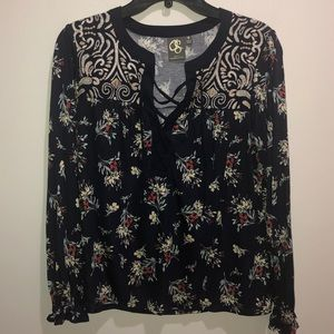 Anthropologie Size S One September Floral Top